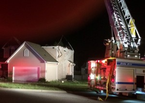 Lexington County Fire, EMS respond to blaze in Chapin