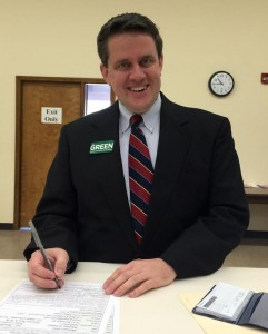 Mike Green, candidate for Register of Deeds.