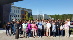 West Metro Rotary leads BCHS student tour of Nephron