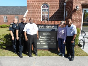 CWC Lions Club donates water for Turner Memorial AME outreach