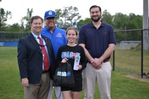 Airport Junior Carlee Vella to throw out first pitch of Fireflies' game