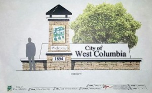 Is West Columbia getting new entrance sign?