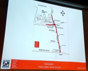 Planners present new traffic study for proposed elementary school on Henbet