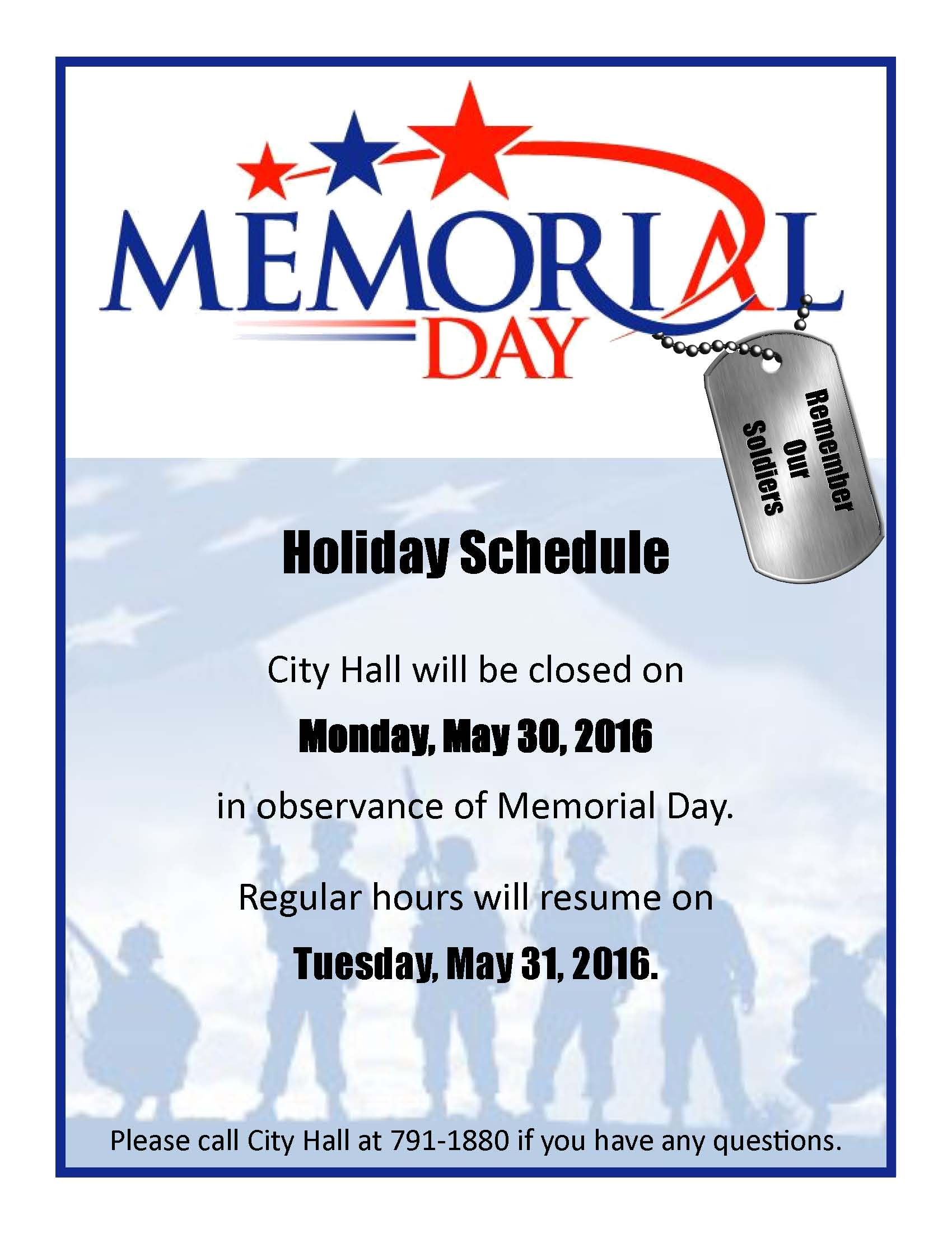 west columbia city offices closed monday for memorial day west
