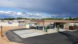 Walmart Grocery, gas station buildings are up in Cayce