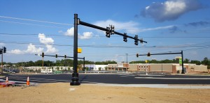Cayce intersection at new Walmart store almost complete