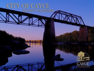 The 2016-17 Cayce Calendars are available for residents