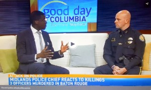 Springdale Police Chief Kevin Cornett says officers driven to confront danger
