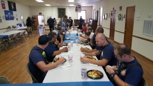 Police, firefighters get a luncheon of support in West Columbia