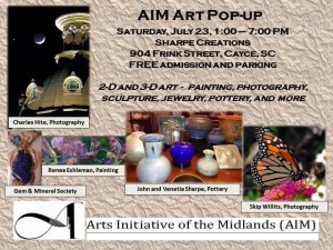 Arts Initiative of the Midlands event is in Cayce, Saturday