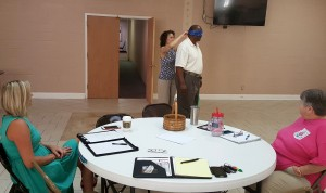 Suzanne Riley Whyte conducts workshops on stress relief