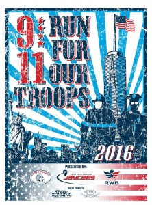 Reminder – CWC Jaycees Annual 9-11 – 5K for our Troops is Sunday…