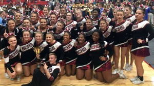 Brookland-Cayce Cheer wins 3rd First Place in a week