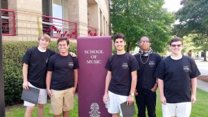 BCHS students attend USC Gentleman's Choral Clinic