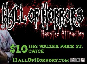 Cayce-West Columbia Jaycees Hall of Horrors is open