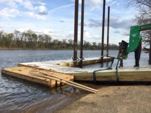 Cayce's Newman Boat Landing is officially reopened