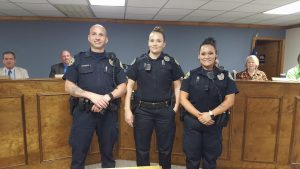 SPD new officers