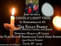 Candlelight vigil scheduled for Kelly Family, fire victims
