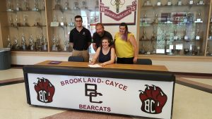 Brookland-Cayce High School swimmer Rianne Travis signs scholarship