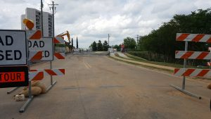 Alexander Road at Meeting Street reopened Tuesday