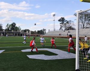 Brookland-Cayce Girls win soccer playoff game