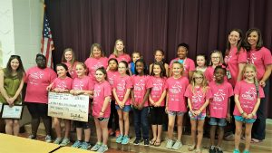 Pineview Elementary Girls-On-The-Run helping make wishes come true