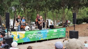 Prettier Than Matt, a fan favorite played Rhythm on the River, Saturday