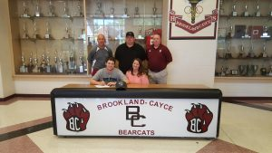 Brookland-Cayce baseball player Tristan Watts accepts college scholarship