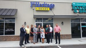 Ribbon is cut on 1st Heritage Credit in West Columbia