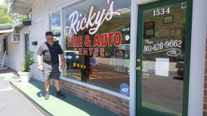Ricky Branham Tire and Auto, small business success in West Columbia