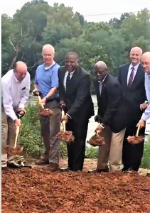 Ground broken on Saluda Riverwalk, eventually connects to West Columbia