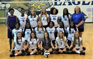 Airport defeats Lower Richland in volleyball