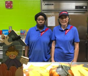 Longtime Springdale cafeteria employees work hard, have fun