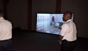 Crime simulator helps West Columbia officers make split-second decisions