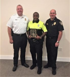 Cayce Public Safety's Eddie West is Law Enforcement Officer of the Month