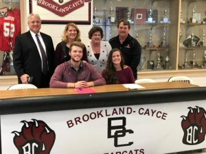 Brookland-Cayce's Madison Conwell, Nathan Walton sign college scholarships, Wednesday
