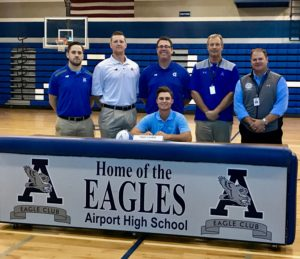 Airport's Tyler Corbitt signs with The Citadel to play baseball