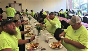 Residents of West Columbia neighborhoods hold luncheon for city sanitation, water, maintenance employees