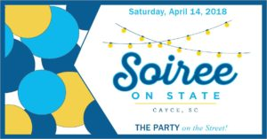 Cayce's Soiree on State, Cayce Festival of the Arts is April 14