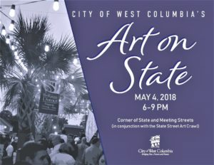 West Columbia offers art crawls, Art on State, and Easter Egg Hunt