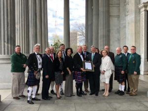 Tartan Day South's John Banks recognized with Senate Resolution – Going to DC