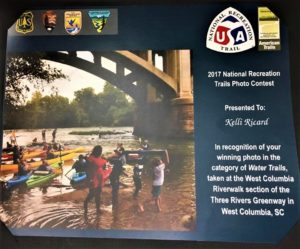 West Columbia's Kelli Ricard receives National Recreation Photo Trails award