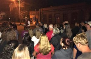 """West Columbia """"Murders and Mysteries"""" Walking Tour draws a crowd"""
