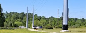 SCE&G blasting underground in West Columbia Tuesday to install new power poles