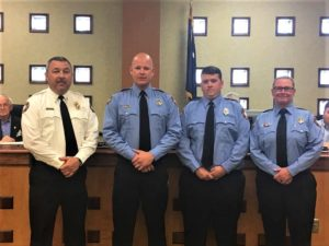 West Columbia firefighters get promotions