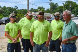 Chris Cranford wins West Columbia's Backhoe Rodeo