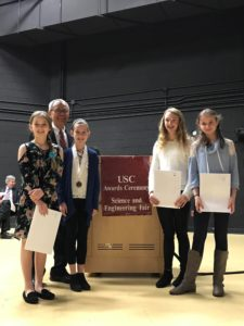East Point Academy students take home several awards from USC Science Fair