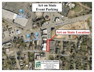 City of West Columbia hosts Art on State, with May State Street Art Crawl, Friday