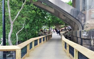 All sections of the West Columbia Riverwalk Park now open