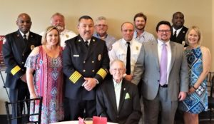 West Columbia Fire Chief Chris Smith is new S.C. Fire Chiefs Association President
